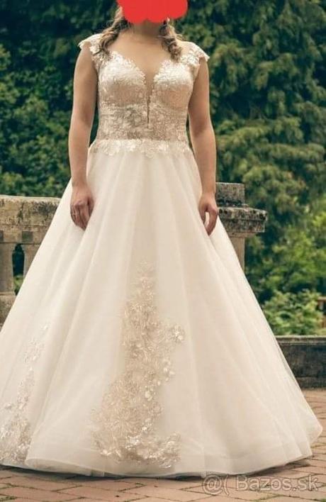 Svadobné šaty AMADEA - Obrázok č. 1