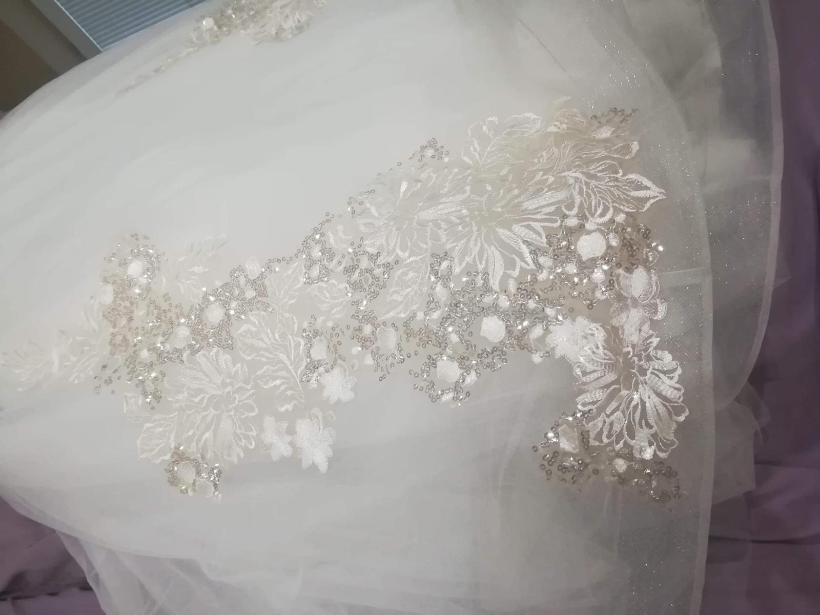 Svadobné šaty AMADEA - Obrázok č. 3