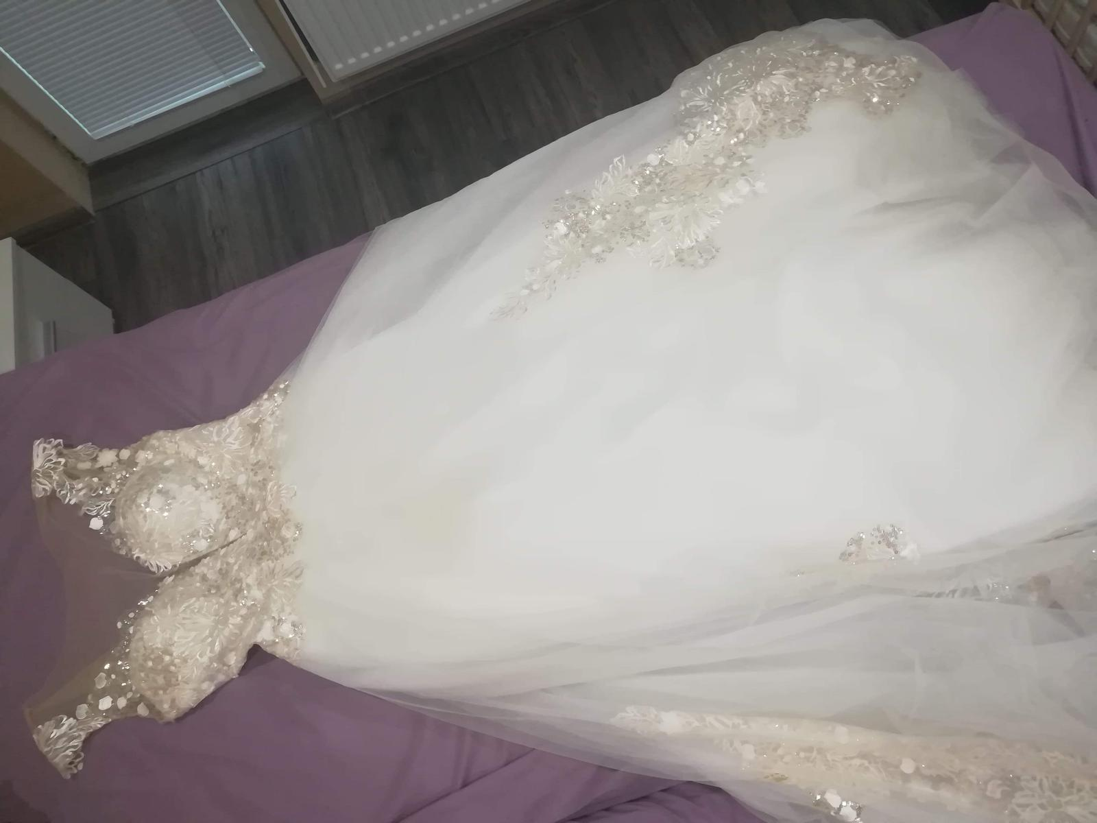Svadobné šaty AMADEA - Obrázok č. 4