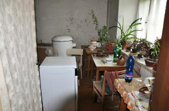 Bývalá kuchyň.