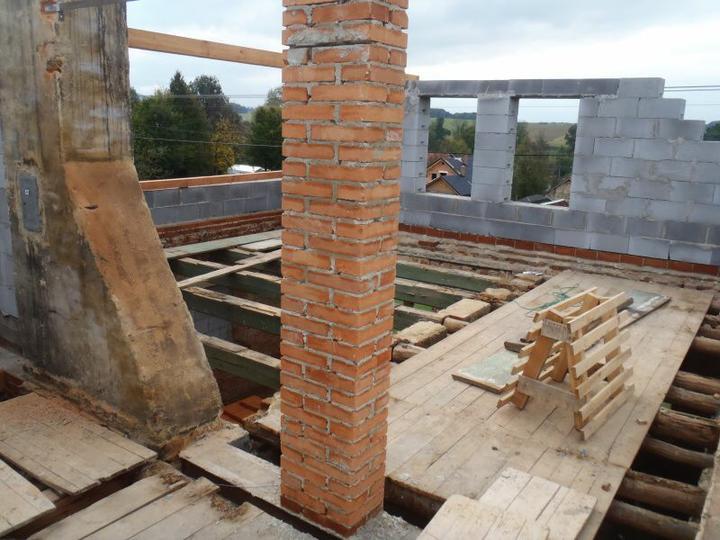Střecha - Ložnice