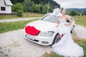 Originálne svadobné šaty, 40