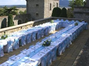 Naša hostina by bola pod holým nebom...
