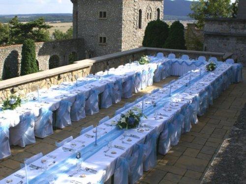 Keby som sa mohla odviazať, moja svadba snov by vyzerala takto... - Naša hostina by bola pod holým nebom...