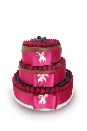 Keby som sa mohla odviazať, moja svadba snov by vyzerala takto... - Naša torta..