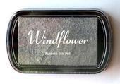 Razítkovací polštářek Windflower stříbrná,
