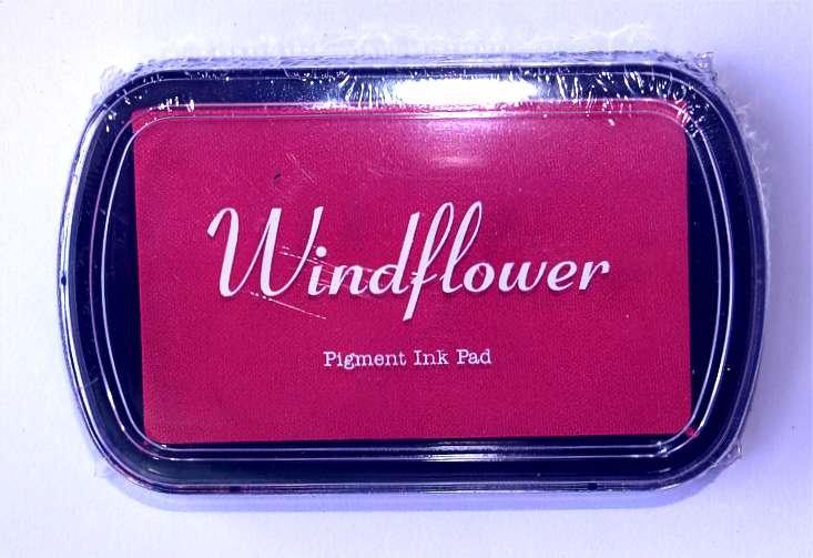 Razítkovací polštářek Windflower růžová - Obrázek č. 1