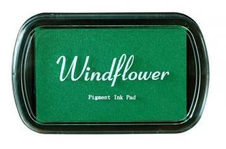 Razítkovací polštářek Windflower zelená - Obrázek č. 1