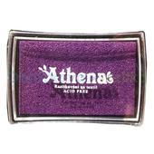 Razítkovací polštářek na textil fialová,