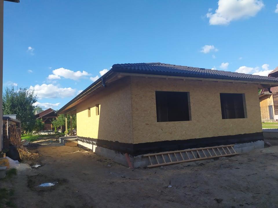 Náš drevodomček - hrubá stavba hotová