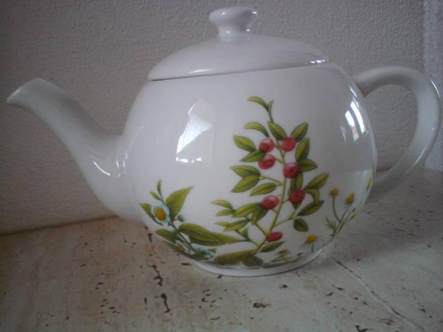Porcelánový čajník - Obrázok č. 1