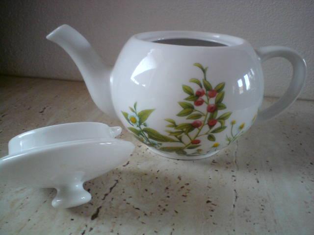 Porcelánový čajník - Obrázok č. 2