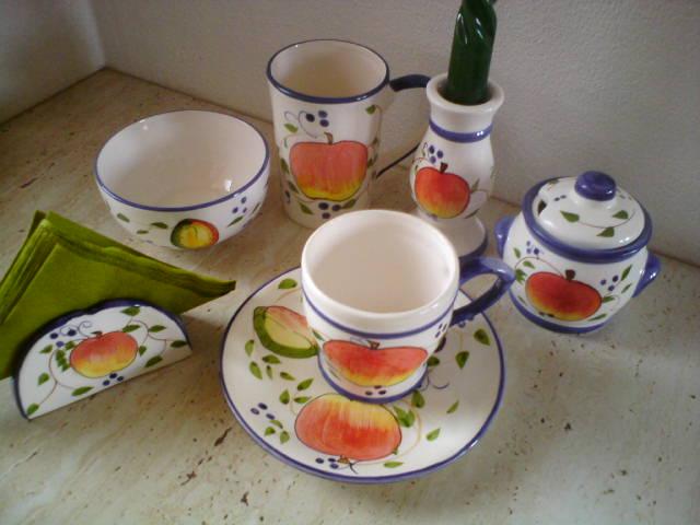 Sada na ranajky z keramiky - Obrázok č. 1