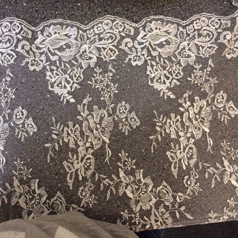 3 D Látky, aplikácie na svadobné šaty prípadne na iné dozdobenie - Obrázok č. 6