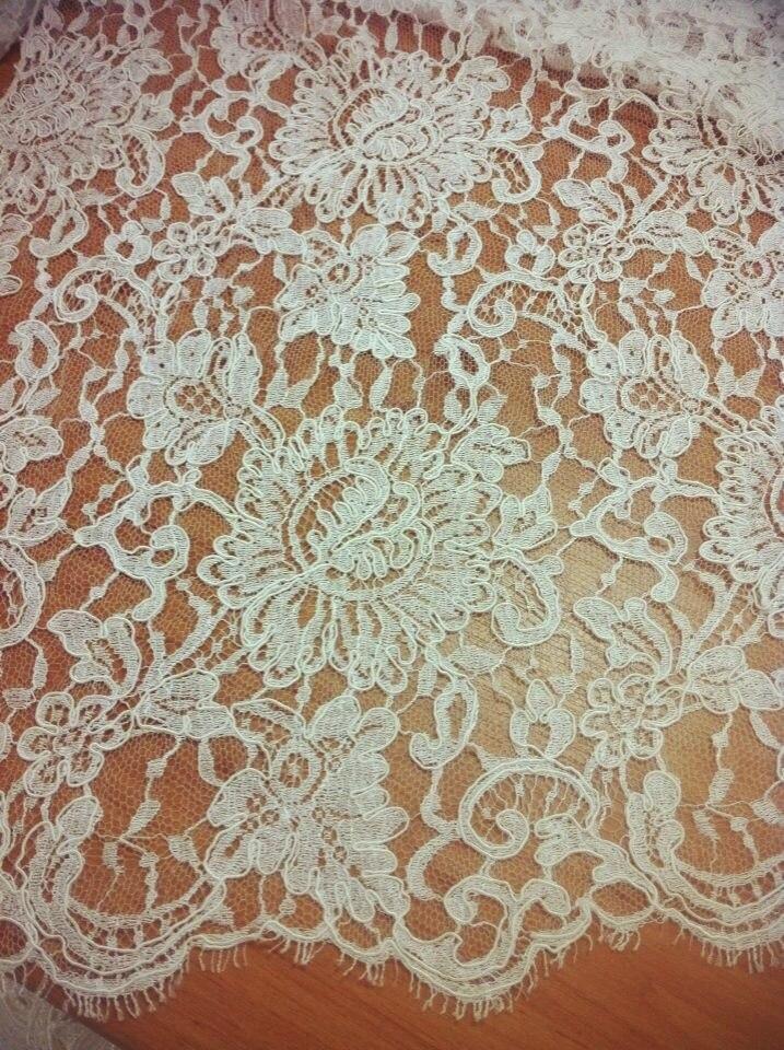 3 D Látky, aplikácie na svadobné šaty prípadne na iné dozdobenie - Obrázok č. 13