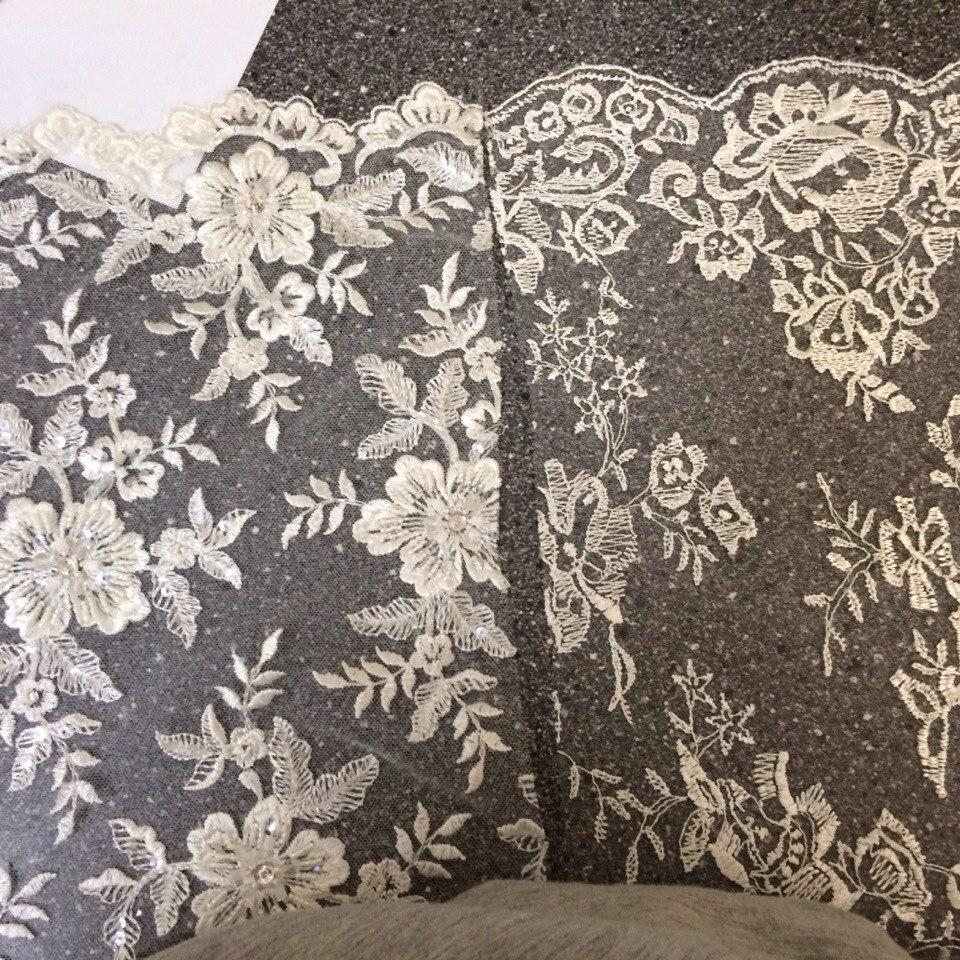 3 D Látky, aplikácie na svadobné šaty prípadne na iné dozdobenie - Obrázok č. 36