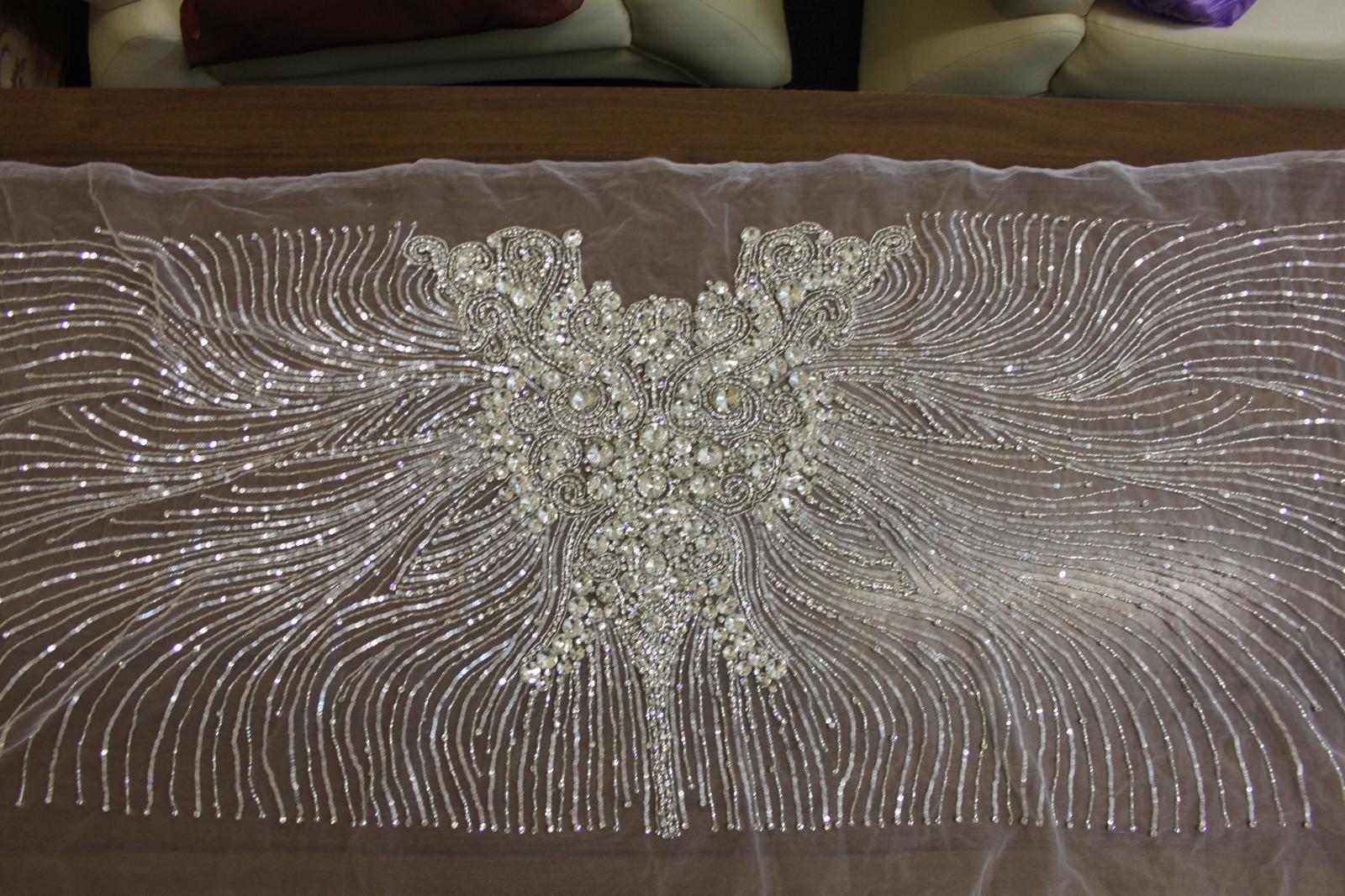 aplikácia na svadobné šaty  - Obrázok č. 2