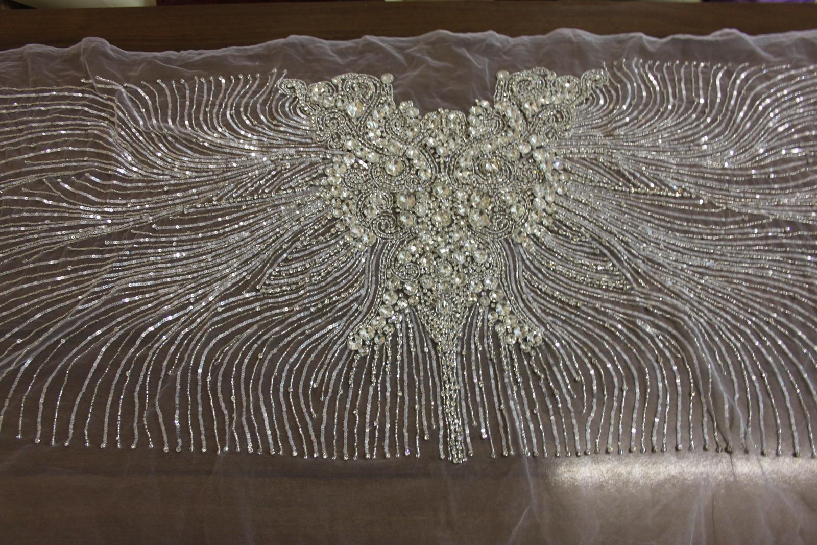 aplikácia na svadobné šaty  - Obrázok č. 3
