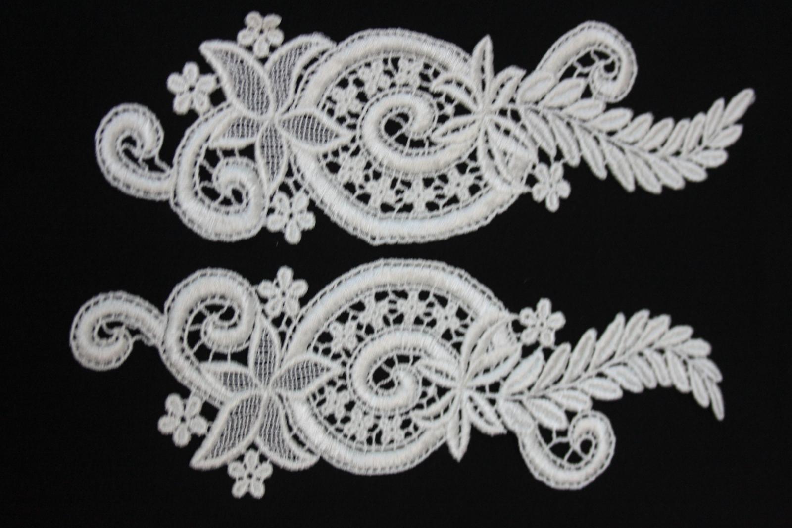 aplikácie na svadobné šaty  - Obrázok č. 1