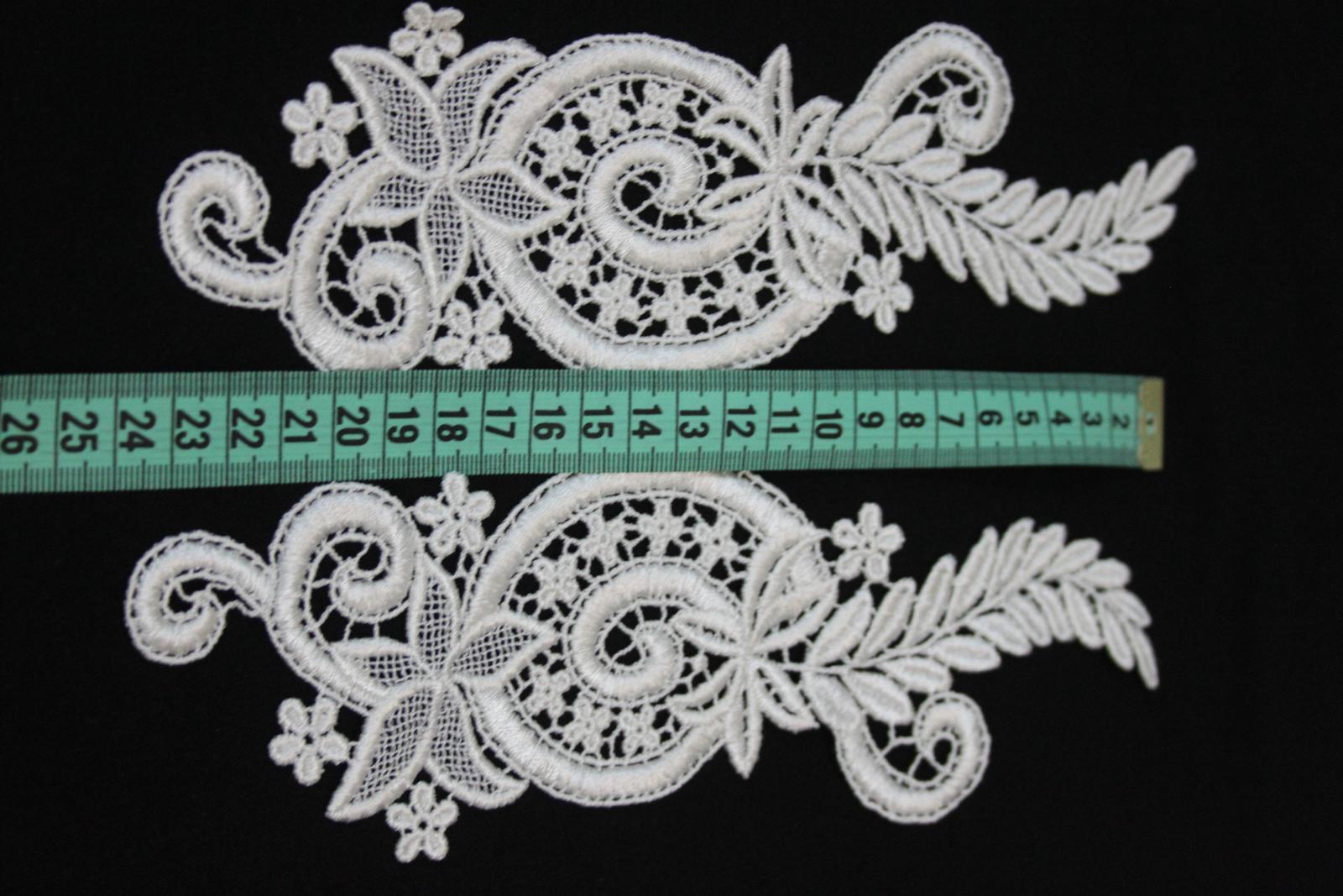 aplikácie na svadobné šaty  - Obrázok č. 3