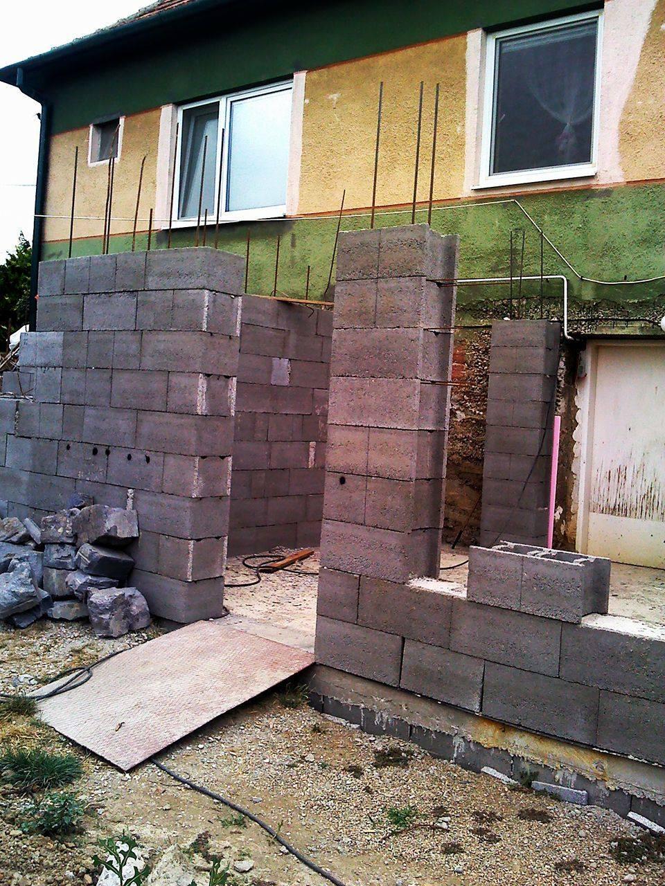 Premena nášho domu - Prístavba za domom
