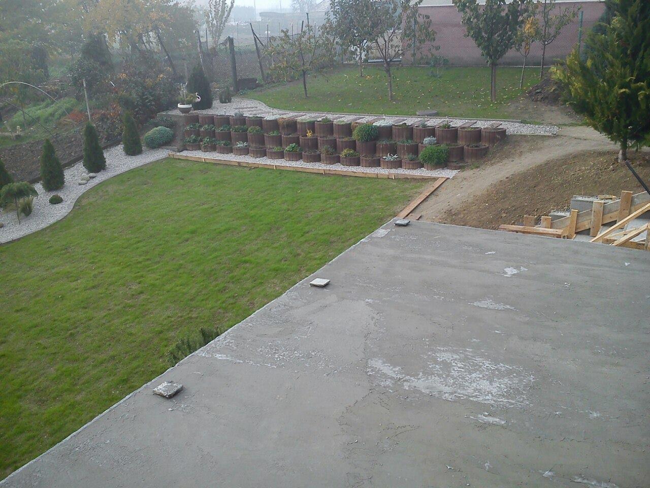 Premena nášho domu - Budúca terasa