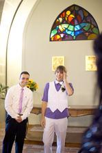 ženicha výraz, když spatřil nevěstu O:)