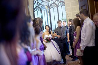nástup nevěsty :-)