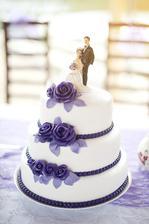 dort pekla ségra - svatební poprvé v životě - no byl luxusní! Měli jsme dorty 3, ale vedl na plné čáře jak vzhledově tak především chuťově! :-)