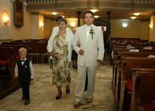 Maminka si vede ženicha