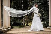 Krajkové svatební šaty - nejen pro těhulky, 36