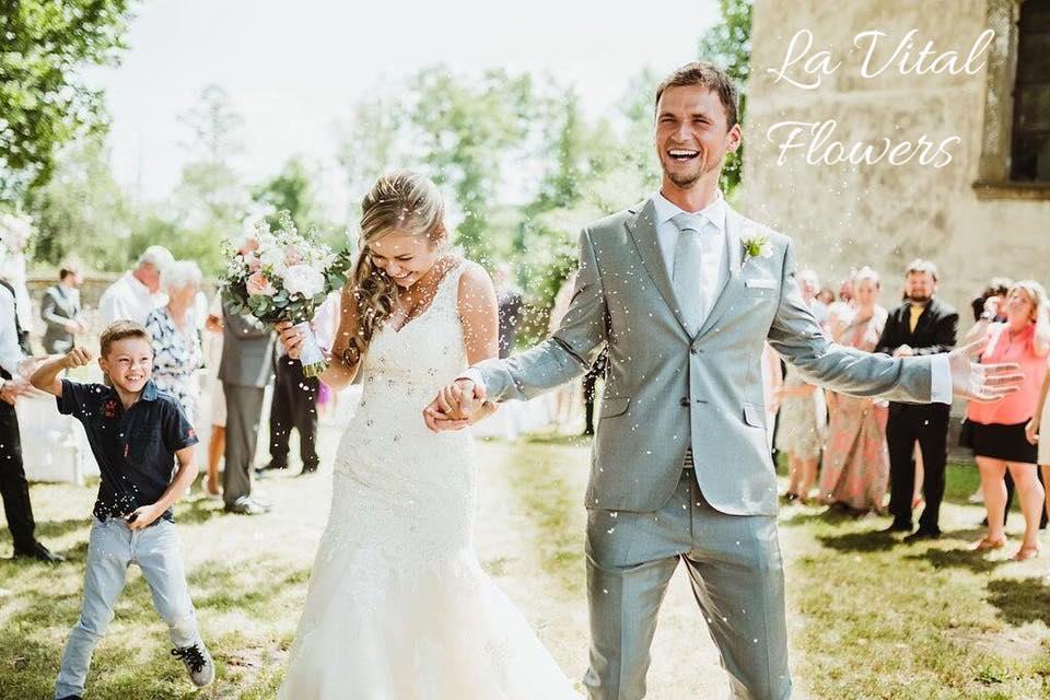Svatba La Vital Flowers Martin a Zuzka Fara Dubenec - Obrázek č. 3
