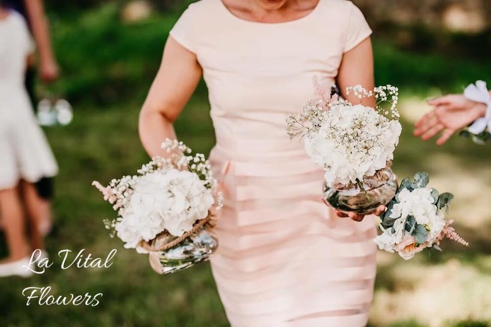 Svatba La Vital Flowers Martin a Zuzka Fara Dubenec - Obrázek č. 5
