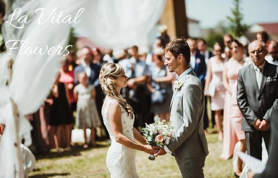 Svatba La Vital Flowers Martin a Zuzka Fara Dubenec - Obrázek č. 13