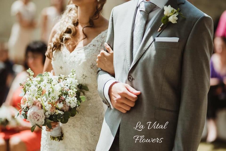 Svatba La Vital Flowers Martin a Zuzka Fara Dubenec - Obrázek č. 14