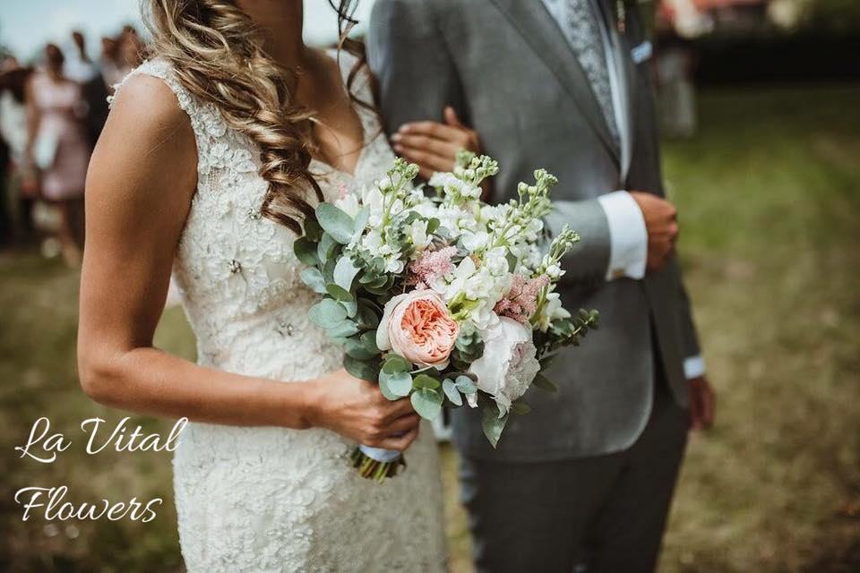 Svatba La Vital Flowers Martin a Zuzka Fara Dubenec - Obrázek č. 17