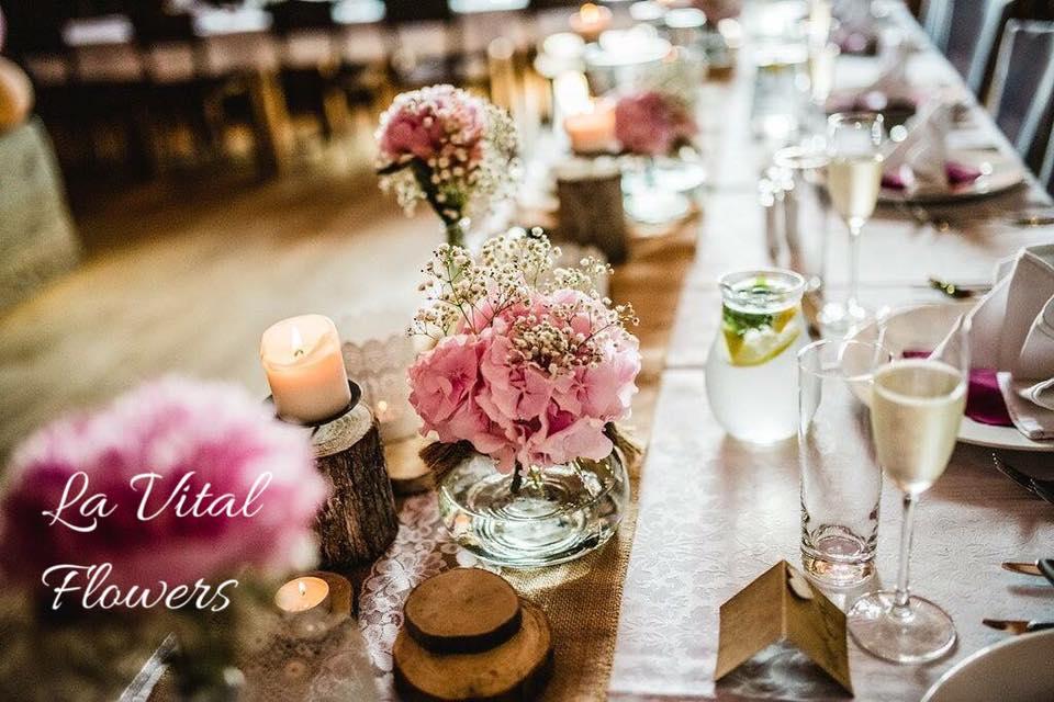 Svatba La Vital Flowers Martin a Zuzka Fara Dubenec - Obrázek č. 19