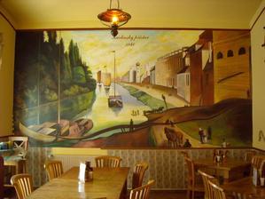 M. Novák - Restaurace U Karlínského přístavu, Praha 8