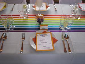 Každý měl své menu, češi česky, němečtí hosté v němčině a Pavlův strýc z Tádžikistánu v azbuce. Skvělá práce agentury Splněný sen!