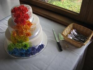 Náš svatební dort!