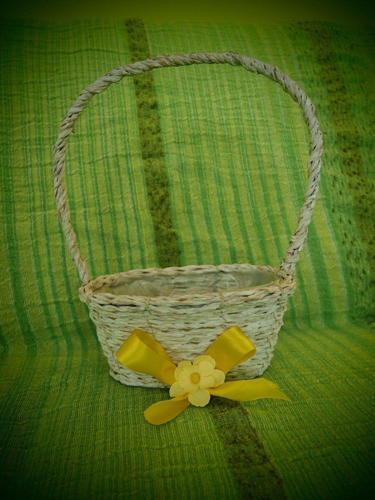 Proutěný dekorativní košík - Obrázek č. 3