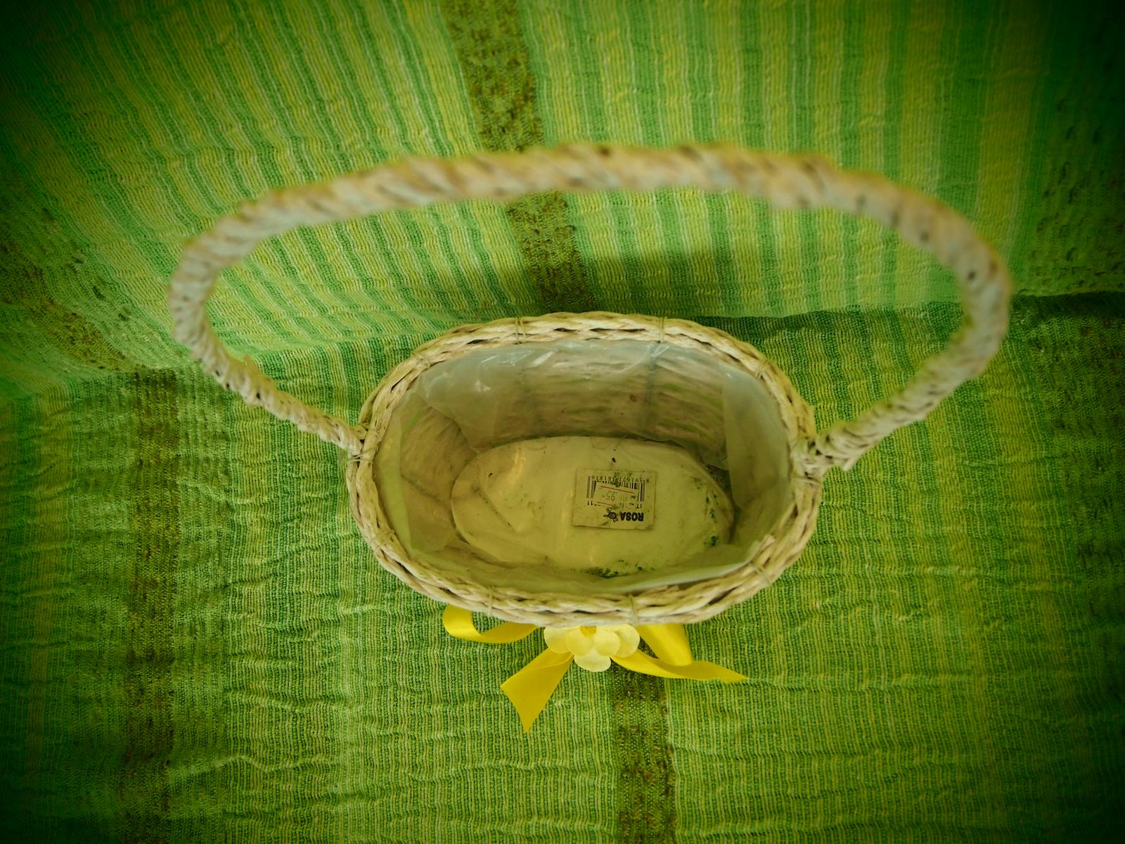 Proutěný dekorativní košík - Obrázek č. 2