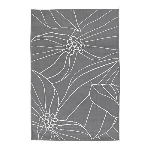 Pre mňa úžasná kombinácia dreva a šedej farby - koberec