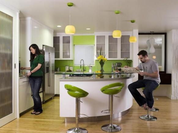 Zelená, kam sa pozrieš - stále decentne a vkusne - Obrázok č. 137