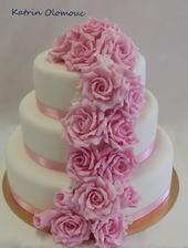 Budu mít kytici z růží a růžičky snad ve vlasech, takže by to ladilo :) Ale určitě ne růžový :D