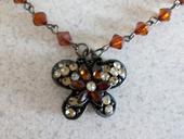 Náhrdelník - motýľ,