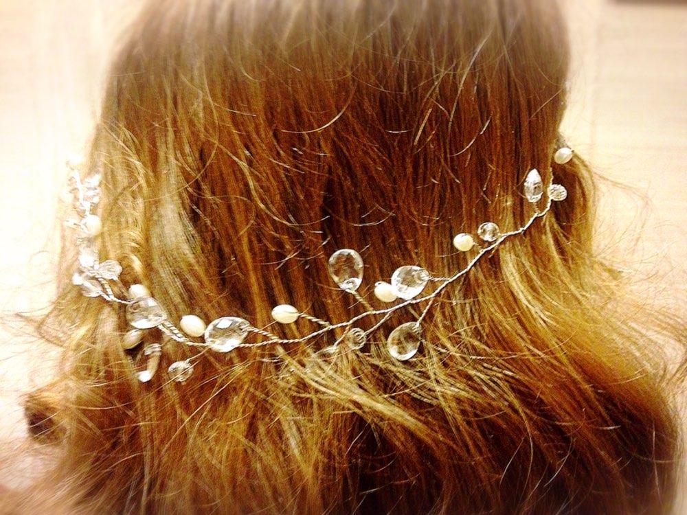 ozdoba do vlasov perlicky kamienky - Obrázok č. 1