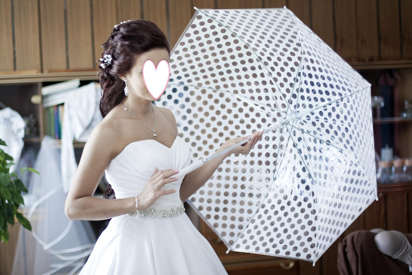 Dazdnik biely svadobny  - Obrázok č. 1