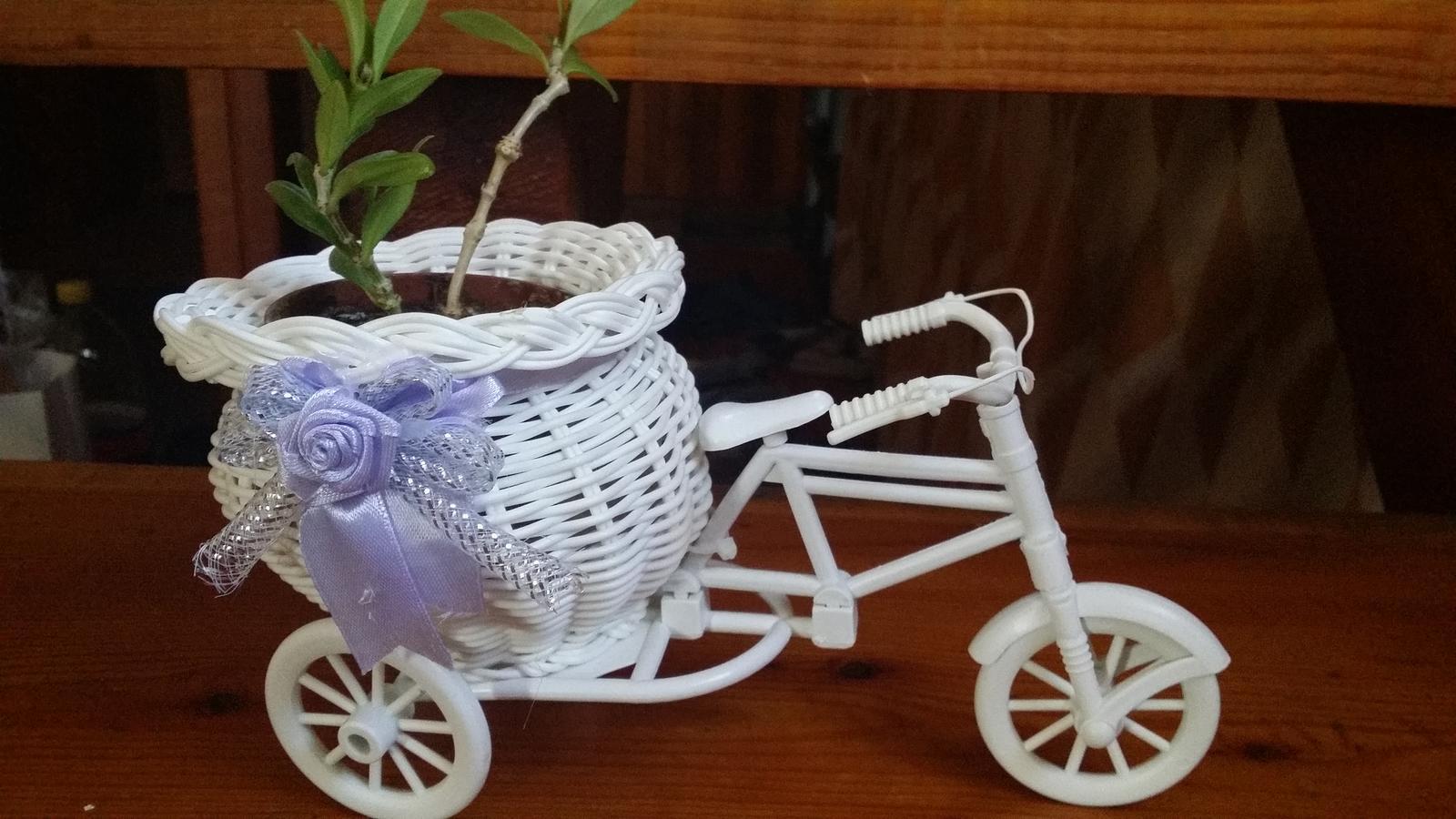 Stojan na kvety, vazu, sviecku, bicykel, trojkolka - Obrázok č. 1