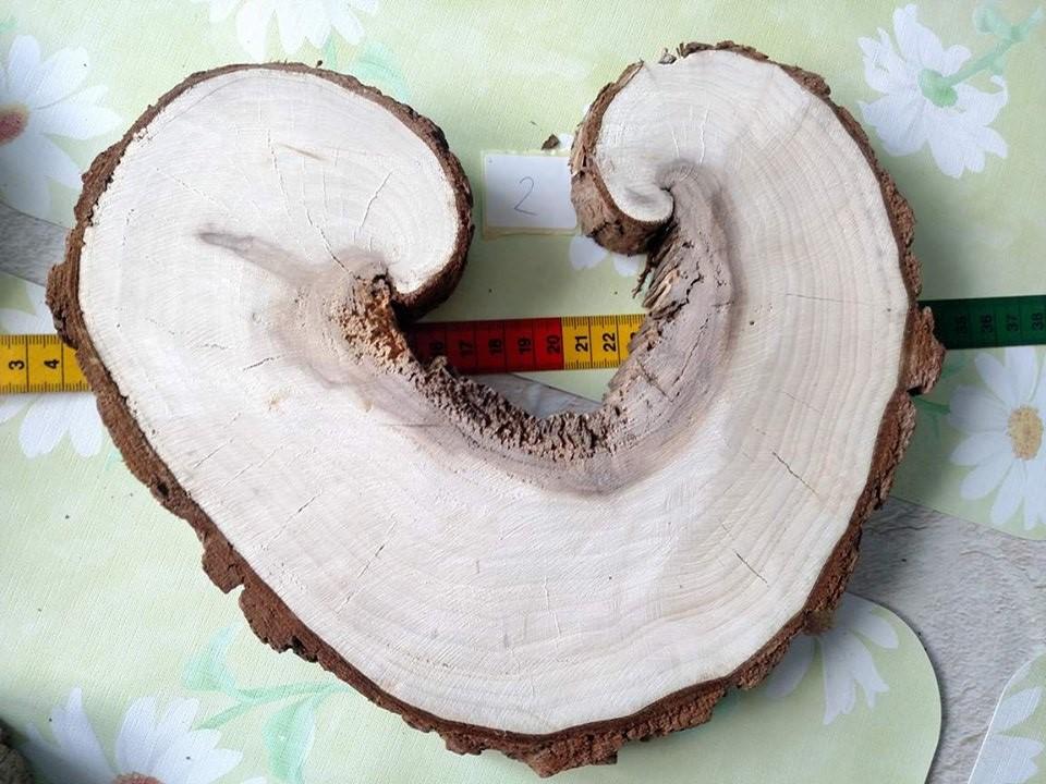 Podstavce pod sviecky,misky,vazy, tvar srdce - Obrázok č. 2
